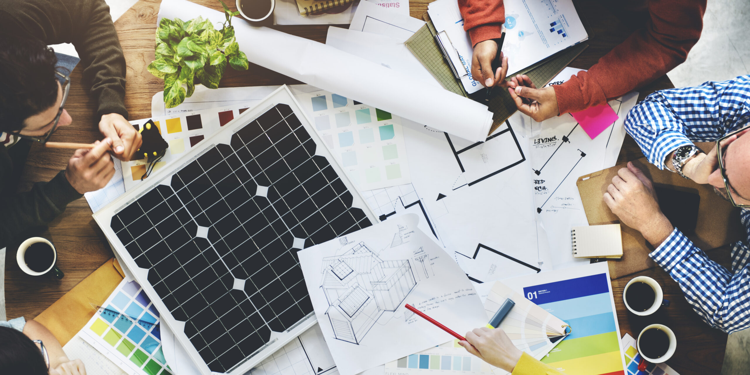 Business,People,Discussion,Solar,Power,Energy,Concept
